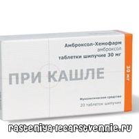 Амброксол хемофарм - инструкция по применению (лекарство для разжижения мокроты)