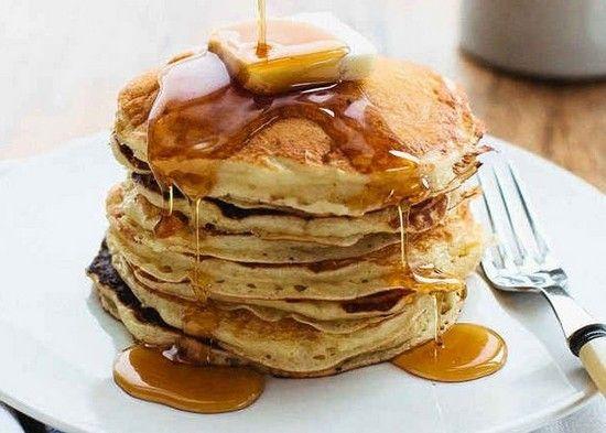 Американские панкейки: рецепт на кефире с фото пошаговый. Как приготовить панкейки на кефире без яиц?