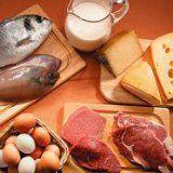 pokarmy białkowe w diecie człowieka