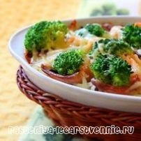 Блюда из капусты брокколи, рецепты