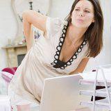 Боли в спине во время беременности
