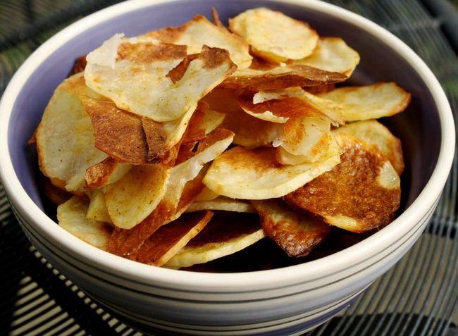 Рецепт чипсов в духовке