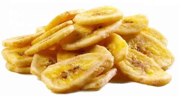 Банановые чипсы в микроволновке: рецепт