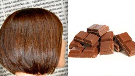 Părul de culoarea ciocolatei cu lapte