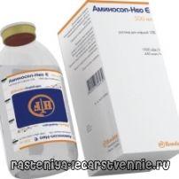 Дефицит белка в организме и белковый препарат для парентерального питания