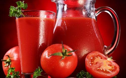 Диетический напиток из томатов