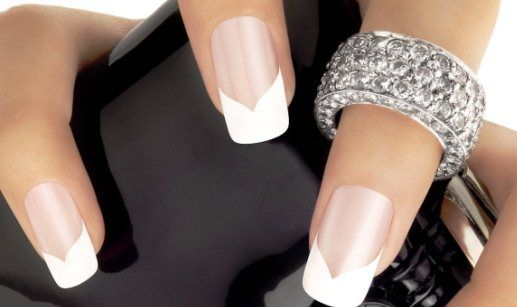 Дизайн ногтей френч: фото
