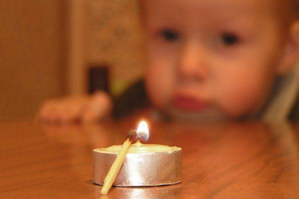 Игры с огнем для ребенка
