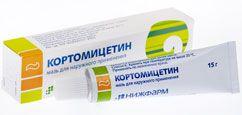 Инструкция по применению мази Кортомицетин