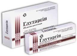 Инструкция по применению таблеток Глутаргин