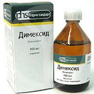 Инструкмя применения Димексида