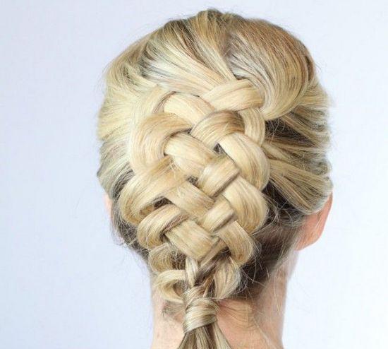 Из 5 прядей коса: схемы плетения и пошаговая инструкция