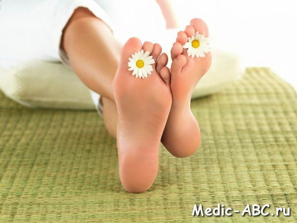 Как избавиться от натоптышей на ступнях