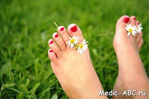 Как лечить натоптыши на ногах.