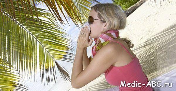 Как лечить простуду летом?