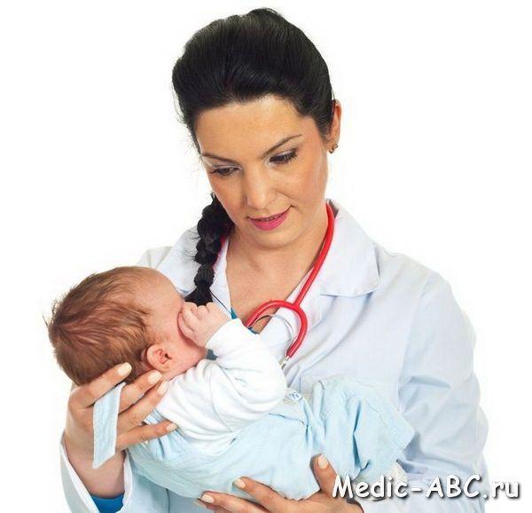 Как лечить простуду у грудного ребенка