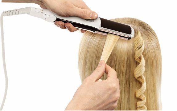 Как накрутить волосы утюжком?