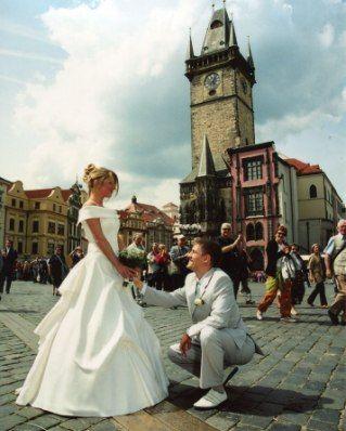 Как необычно отпраздновать свадьбу?