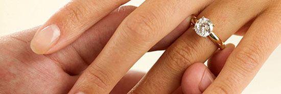 Как определить размер кольца на палец девушки в домашних условиях?