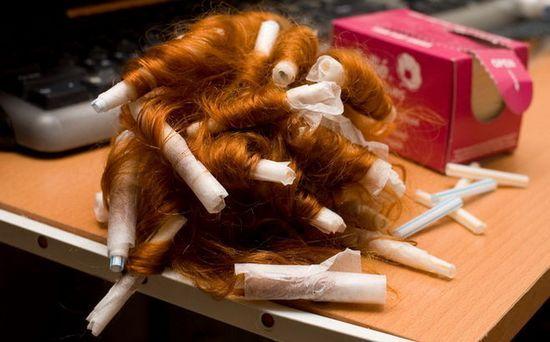 Как правильно накрутить волосы на папильотки