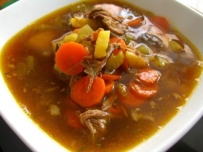 Суп из телятины ароматный