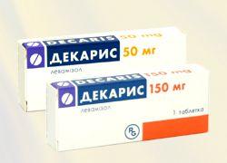Как принимать таблетки от глистов Декарис?