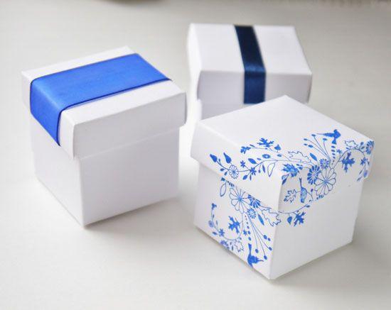 Как сделать коробочку из картона своими руками?
