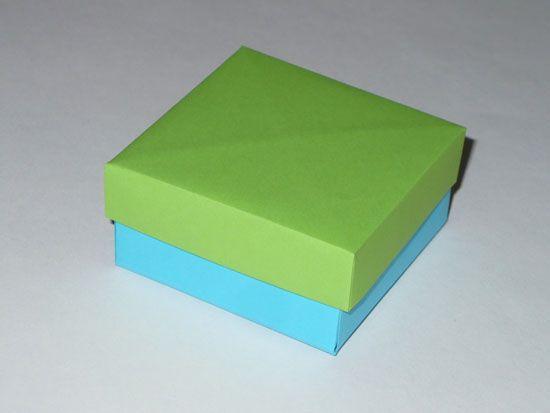 Как сделать подарочную коробочку из картона своими руками?