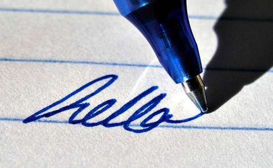 Как стереть ручку с бумаги без следов, LS