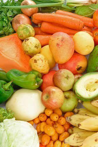 Какие витамины содержатся во фруктах и овощах
