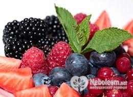 Калорийность ягод