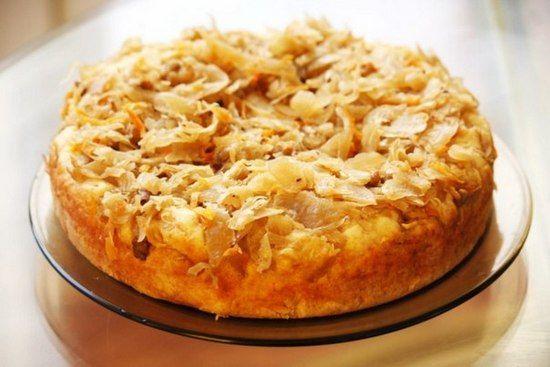 Капустный пирог для ленивых: рецепты с фото на кефире, приготовления в мультиварке