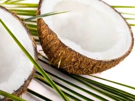 Olej kokosowy opalenizna