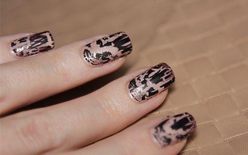 Кракелюр – лак для ногтей