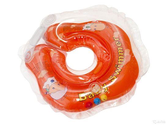 Круг для купания новорожденных. Со скольки месяцев его используют: отзывы врачей