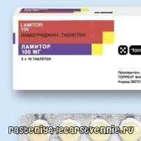 Ламитор - инструкция, применение, показания, противопоказания, действие, побочные эффекты, аналоги, дозировка, состав