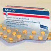 Лекарство Конкор (таблетки): как принимать, аналоги