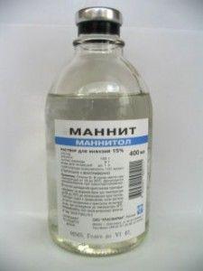 Маннитол - противоотёчный диуретический препарат