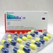Медицинский препарат для похудения Меридиа