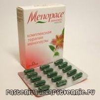 Менопейс - инструкция, применение, показания, противопоказания, действие, побочные эффекты, аналоги, дозировка, состав
