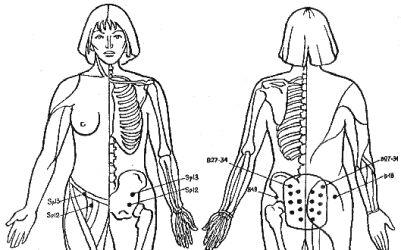 Некоторые точки эндокринной системы - Самомассаж