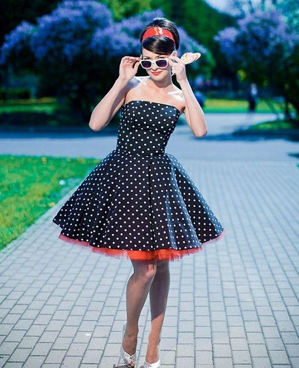 Как одевались девушки стиляги?