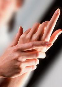 Онемевшая рука
