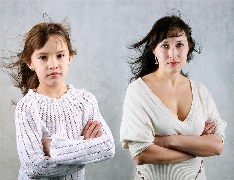 Отношения матери и дочери