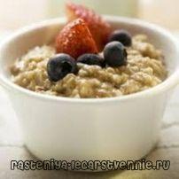 Овсяная каша на молоке: калорийность, рецепт