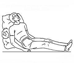 Первая помощь при гипертоническом кризе - привести больного в положение полусидя