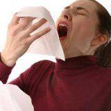 Первые признаки чихание насморк