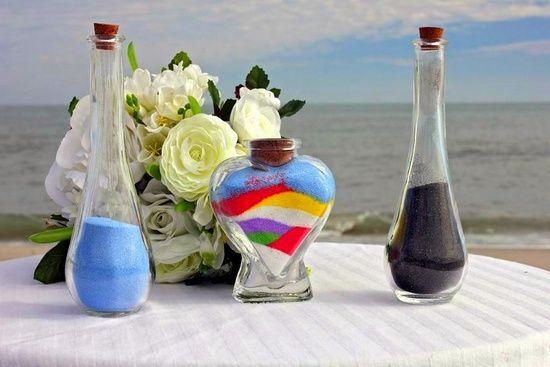 Песочная церемония на свадьбе – обряд единения любящих сердец. Как подобрать атрибуты, музыку и текст для ведущей?