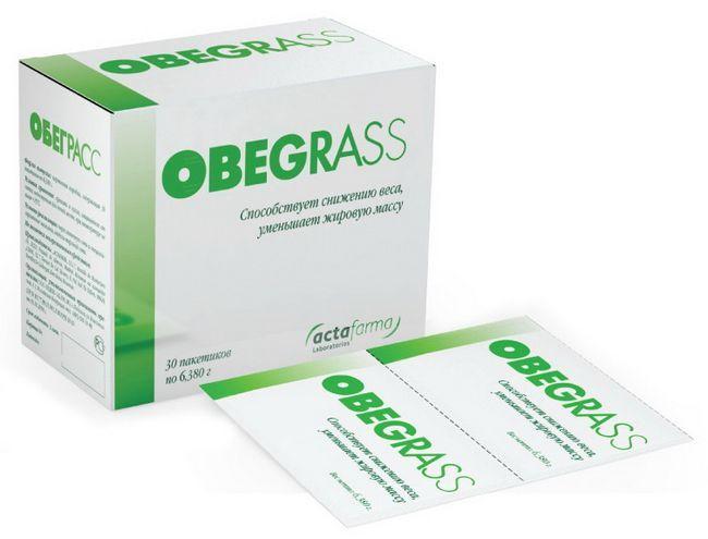 Порошок для похудения Обеграсс
