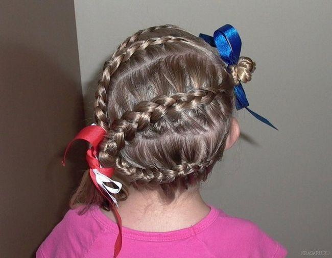 Прически для девочек на средние волосы. Простые прически на каждый день